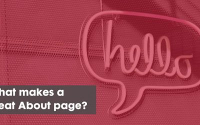 What Makes a 'Great' About Page?