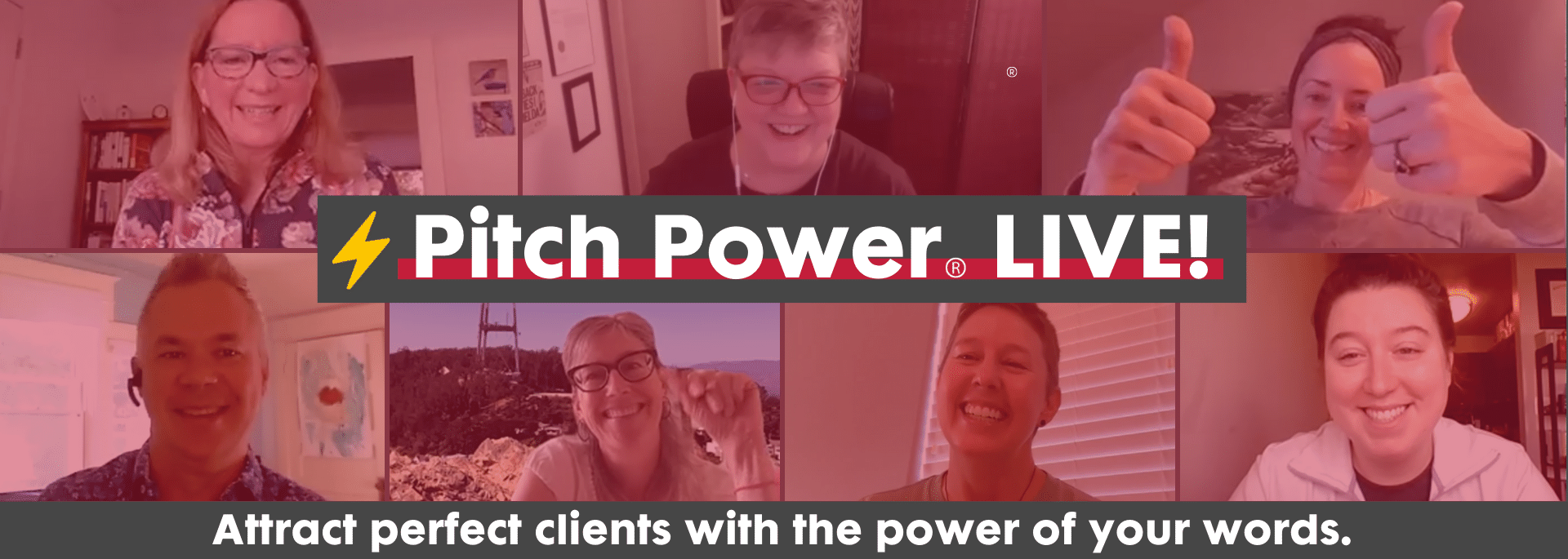 Pitch Power LIVE! Talk About What You Do & Attract Perfect Clients